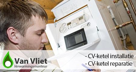 CV-ketel installatie