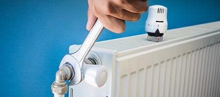 vervangen van radiatorknop