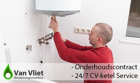 CV-ketel onderhoudscontact